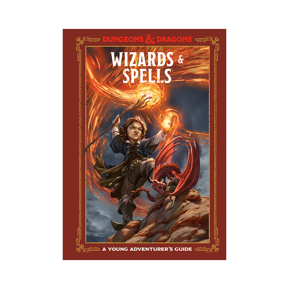 Dungeons & Dragons: Wizards & Spells: A Young Adventurer's Guide