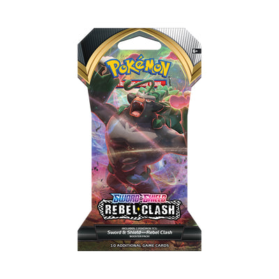 Pokémon TCG Sword & Shield Rebel Clash Booster