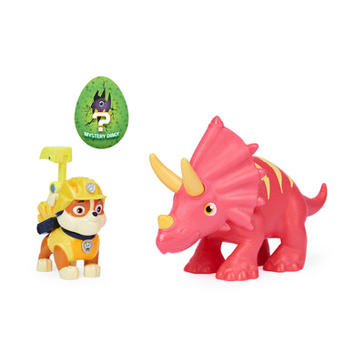 PAW Patrol Dino Rescue Rubble and Triceratops