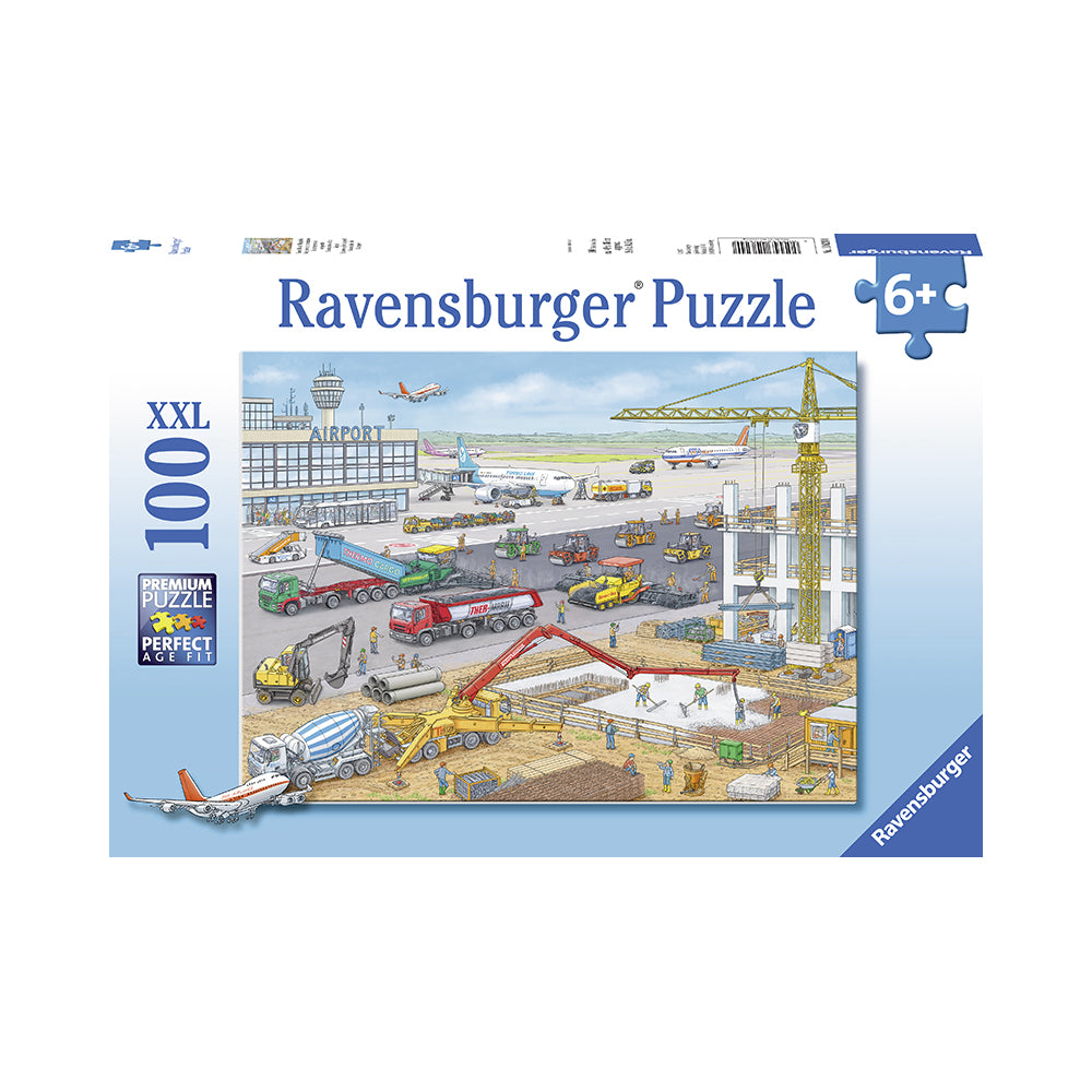 Ravensburger Construction at the Airport 100pc Puzzle