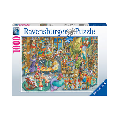 Ravensburger Midnight at the Library 1000pc Puzzle