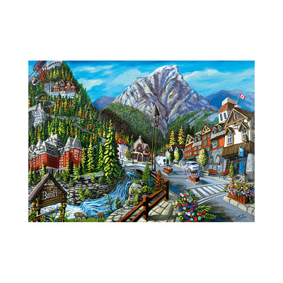 Ravensburger Canadian Collection: Welcome to Banff 1000pc Puzzle