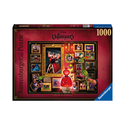 Ravensburger Disney Villainous Queen of Hearts 1000pc Puzzle