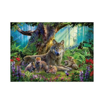 Ravensburger Wolves in the Forest 1000pc Puzzle
