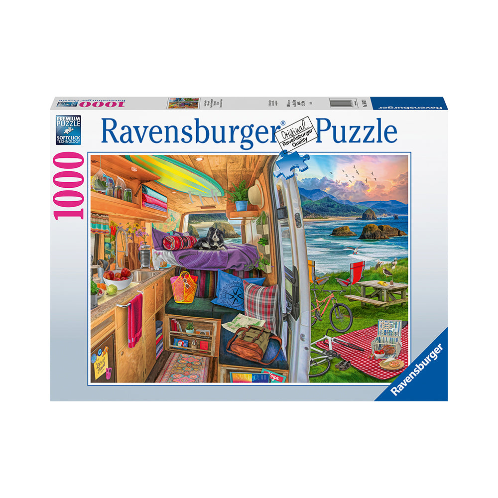 Ravensburger Rig Views 1000pc Puzzle