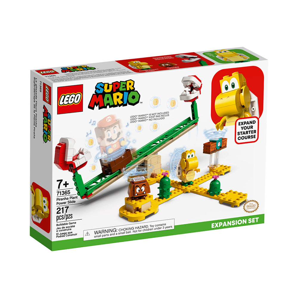 LEGO® Super Mario™ Piranha Plant Power Slide Expansion Set