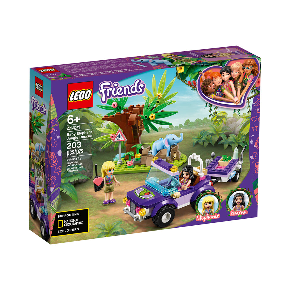 LEGO® Friends™ Baby Elephant Jungle Rescue