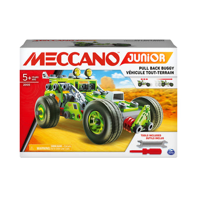 Meccano Junior 3-in-1 Pull Back Buggy