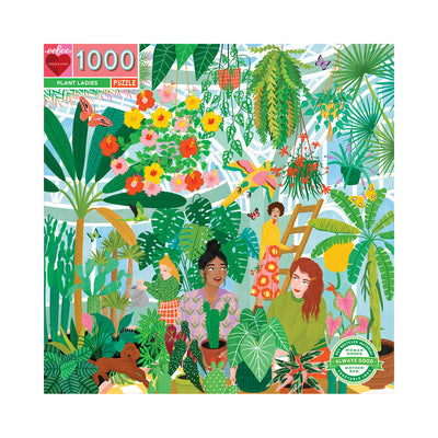 eeBoo Plant Ladies 1000pc Puzzle