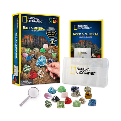National Geographic™ Rock and Mineral Starter Kit