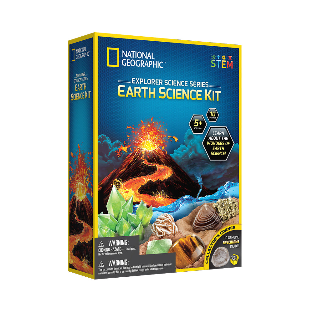 National Geographic™ Science Explorations: Earth Science Kit