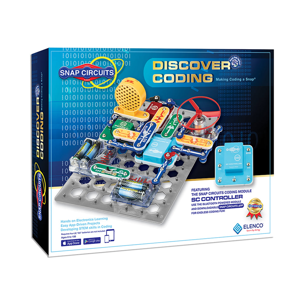 Snap Circuits Discover Coding