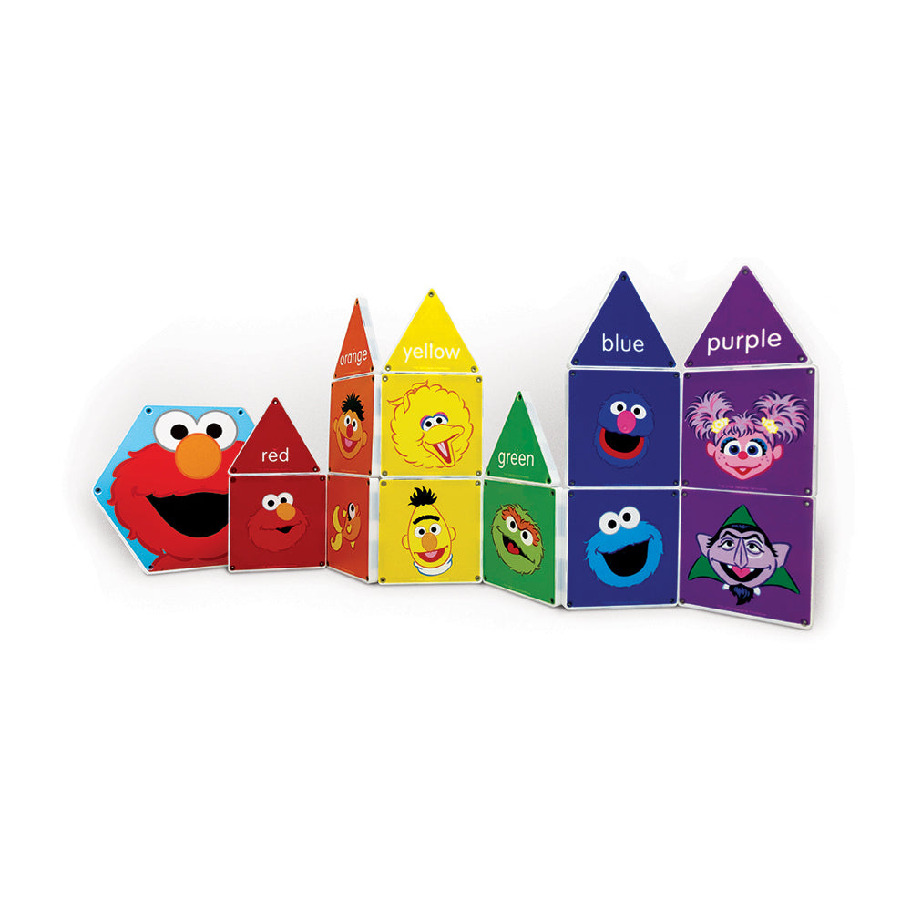 Magna-Tiles Structures Sesame Street: Colours with Elmo