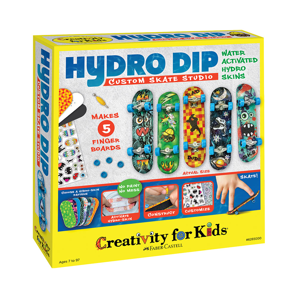 Creativity for Kids Hydro Dip Custom Skate Studio