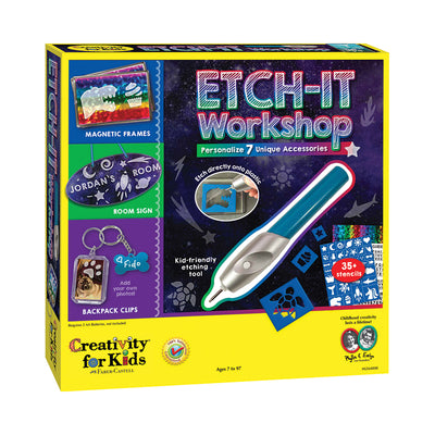 Creativity for Kids Etch-It Workshop