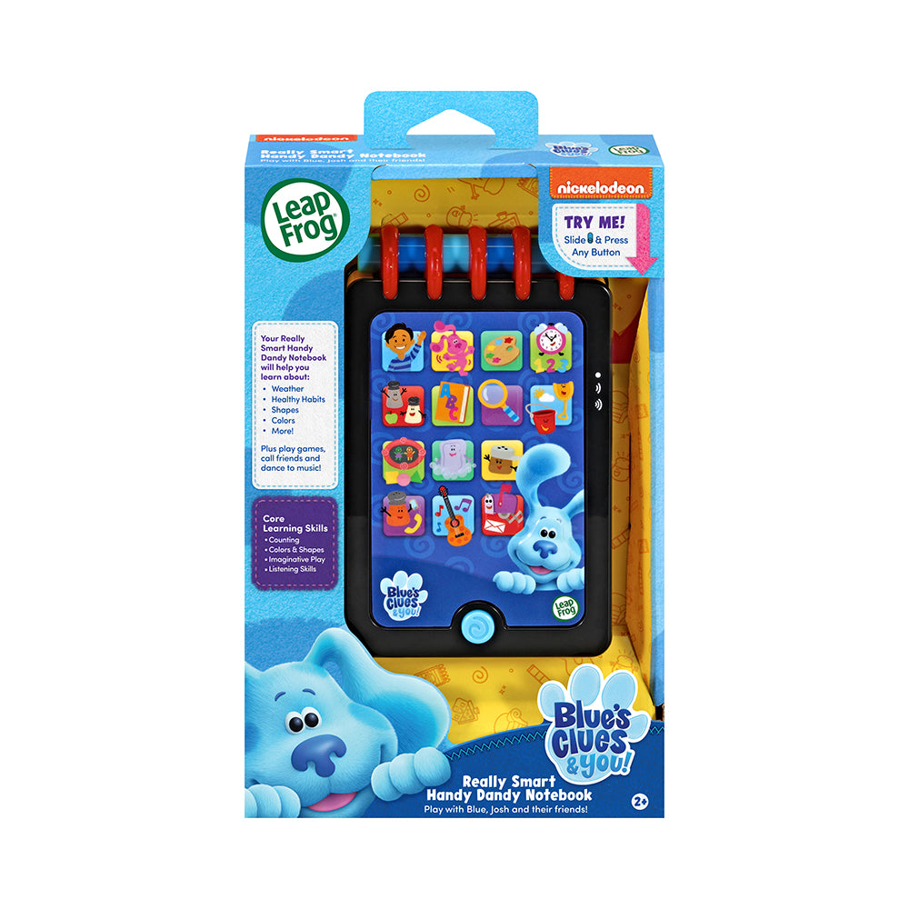 LeapFrog® Blue's Clues & You! Really Smart Handy Dandy Notebook