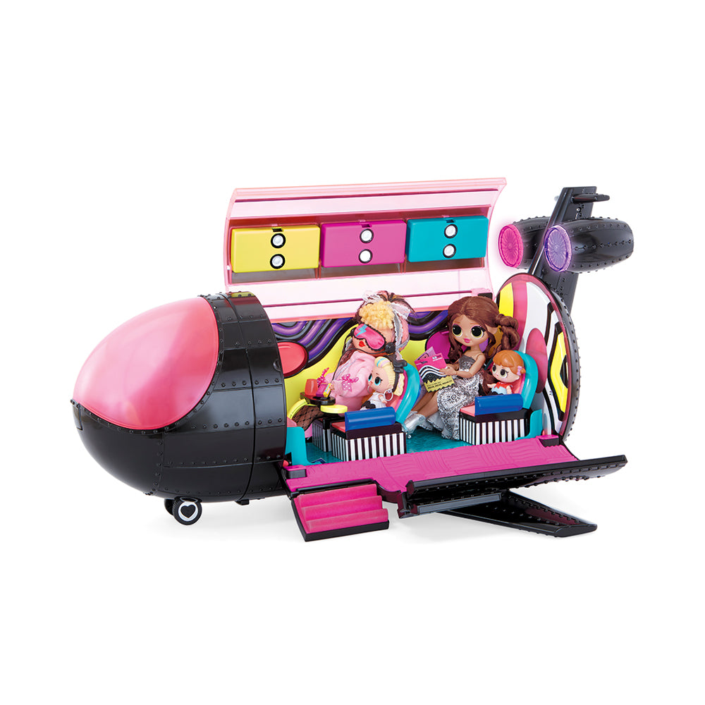 L.O.L. Surprise! OMG Remix 4-in-1 Plane Playset