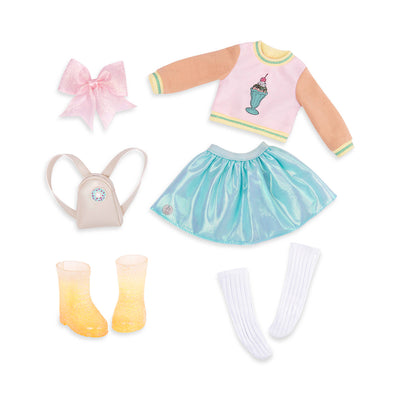 "Glitter Girls Sweet Dazzle! 14"" Deluxe Outfit"