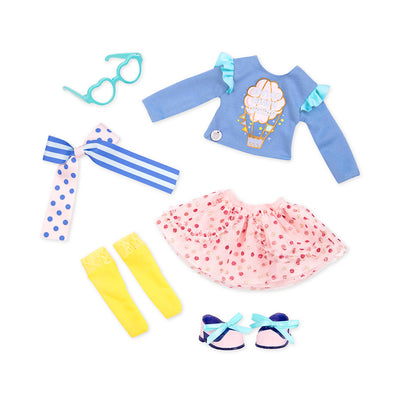 "Glitter Girls Spun Sugar Fun! 14"" Deluxe Outfit"