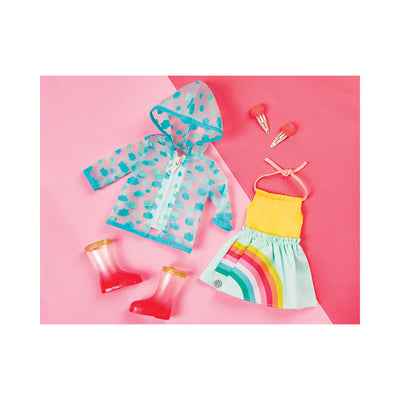 "Glitter Girls Smile! Rain or Shine 14"" Deluxe Outfit"