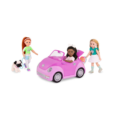 Glitter Girls GG Convertible Car Purple