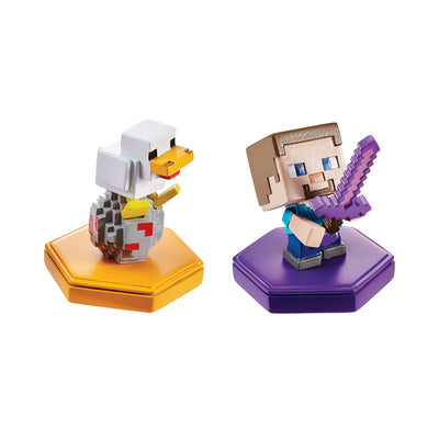 Minecraft Earth Boost Mini Figure 2pk