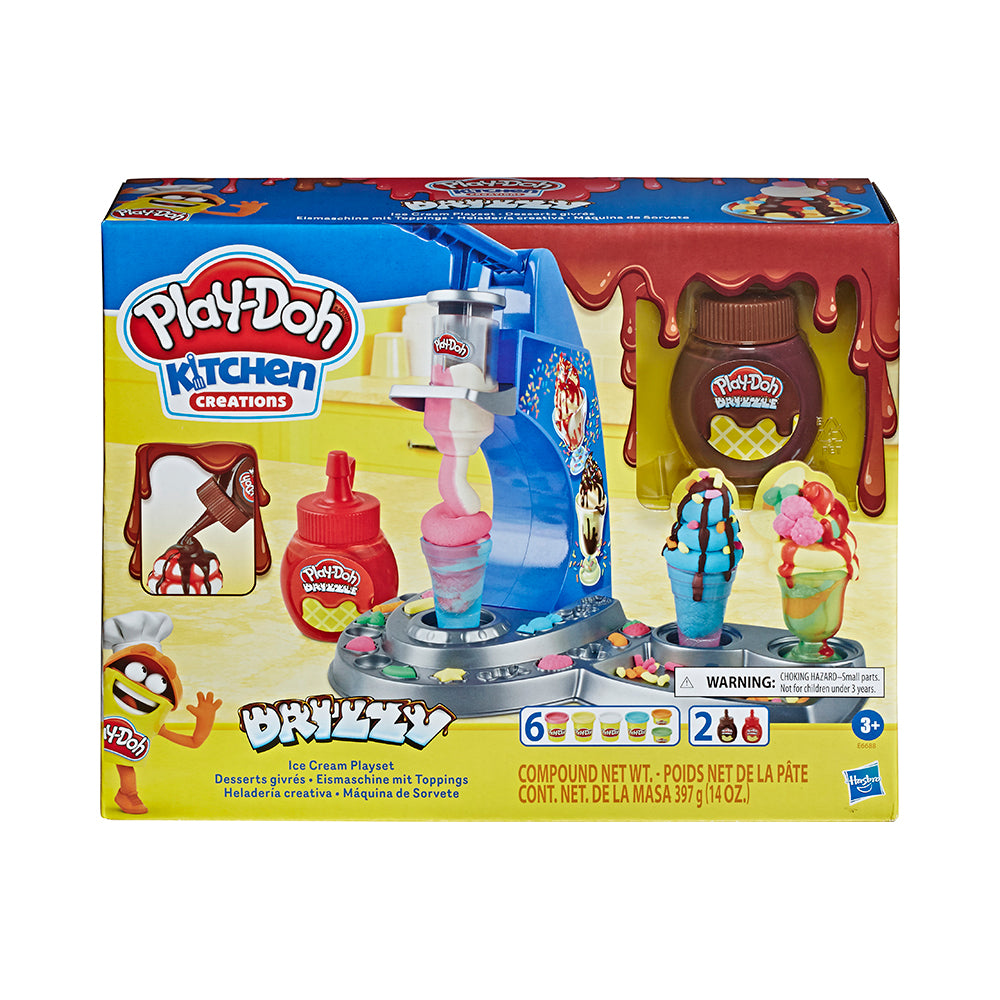 Play-Doh Drizzy Ice Cream Set