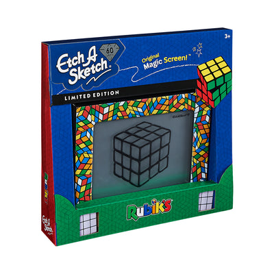 Classic Etch-A-Sketch Rubik's Cube Limited-Edition