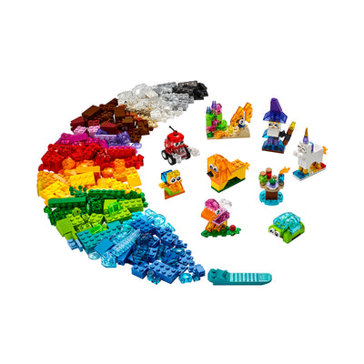LEGO® Classic Creative Transparent Bricks