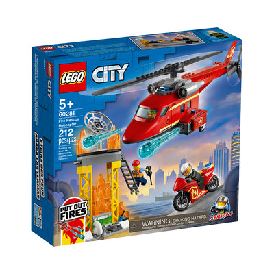 LEGO® City Fire Rescue Helicopter
