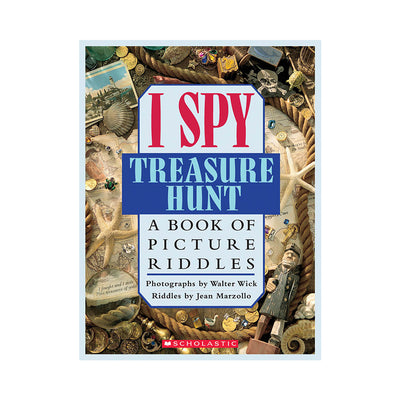 I Spy Treasure Hunt Activity Book