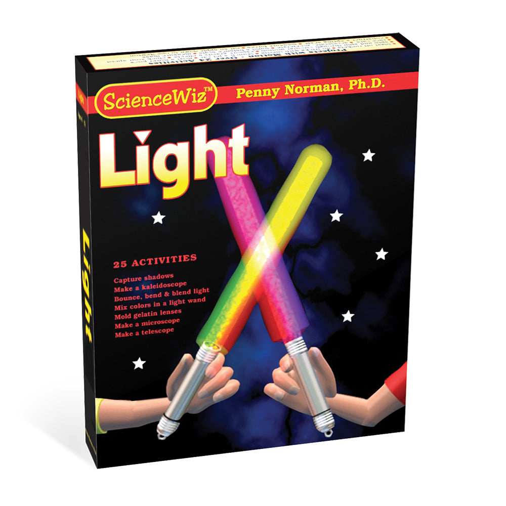 ScienceWiz Projects with Light Kit