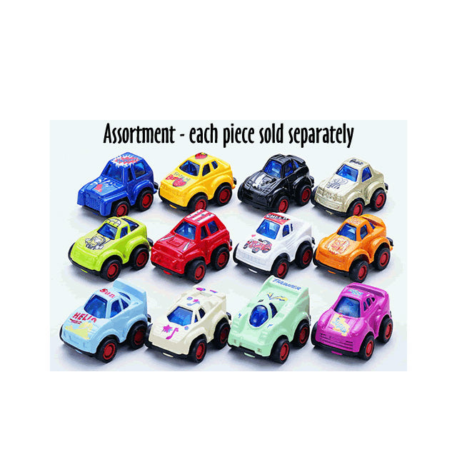 Pull Back and Go Action Mini Racers