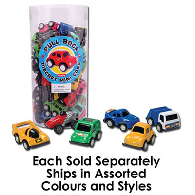 Schylling Die Cast Pull Back Wheelers Mini Roadster Car - Assorted