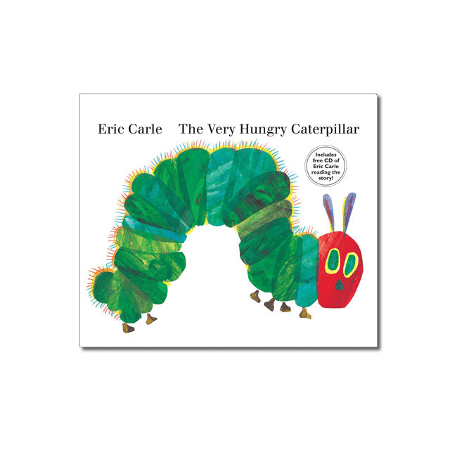 The Very Hungry Caterpillar Board book with CD