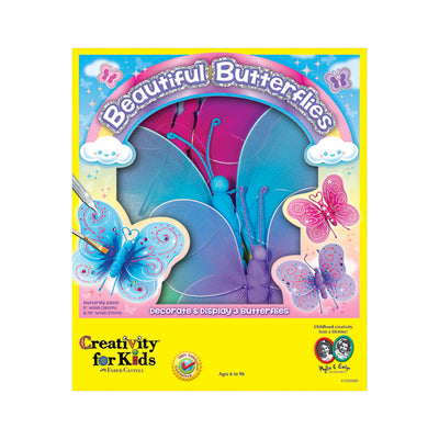 Creativity for Kids Beautiful Butterflies Kit
