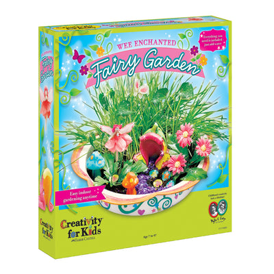 Creativity for Kids Wee Enchanted Fairy Garden Set