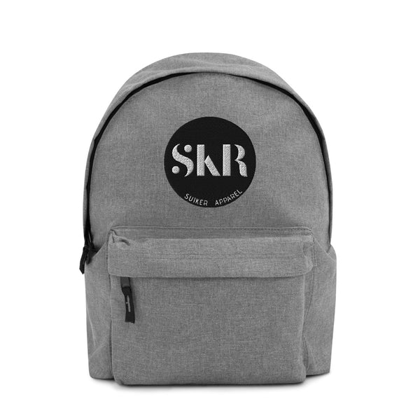 SKR Embroidered Backpack
