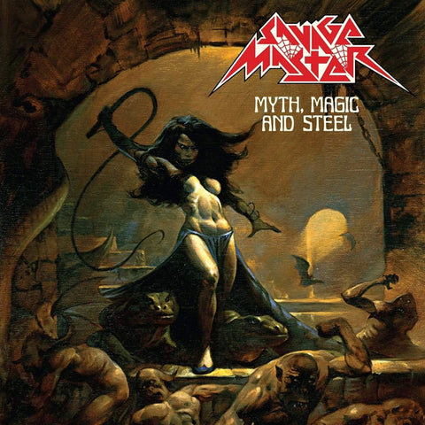 Savage Master - Myth , Magic and Steel LP