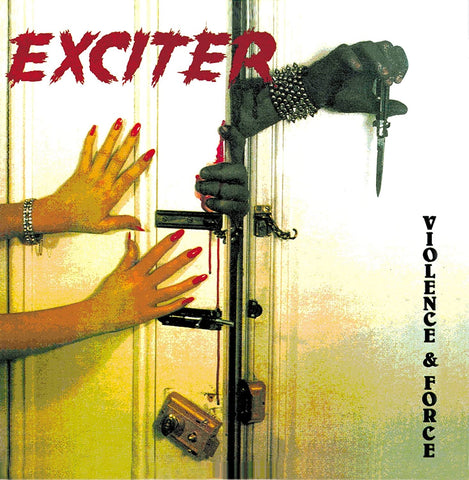 Exciter - Violence and force lp