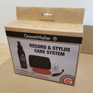 Groove Washer record cleaning kit