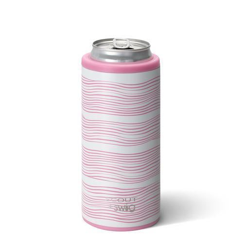 Swig Skinny Can Cooler Wavy Love