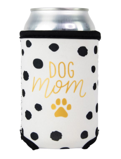 Beverage Sleeve Spotted Dog Mom