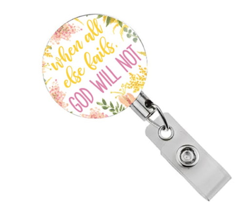 All Else Fails Badge Reel