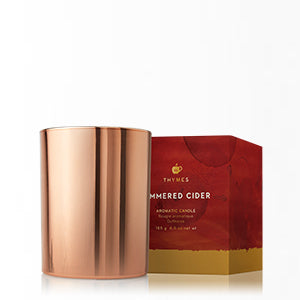 Simmered Cider Metallic Candle