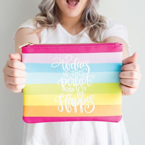 Perfect Day Zipper Pouch