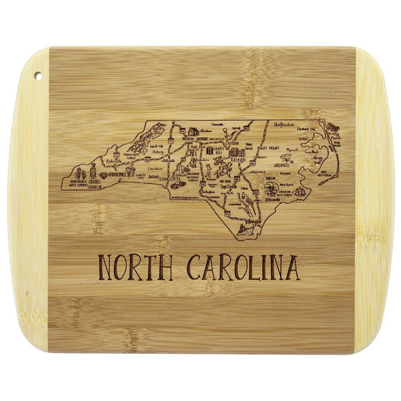 A Slice of Life NC Cutting and Serving Board