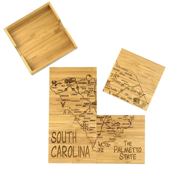 SC Puzzle Coaster Set with Case