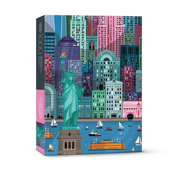 1000 PC Puzzle NYC - The Little Friends Of Printmaking