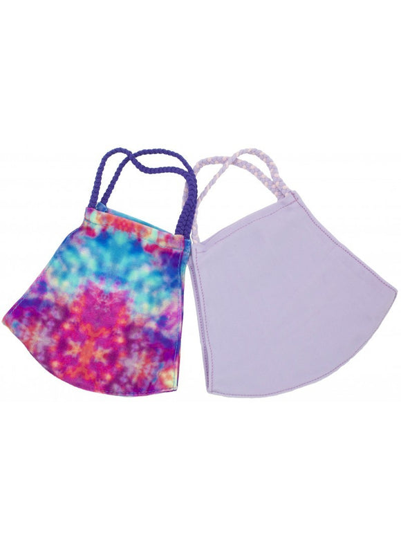 Purple Tie Dye Pomchie Set